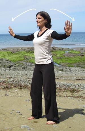 Ba Duan Jin : Soutenir le ciel avec les mains - Exercice Qi Gong 4