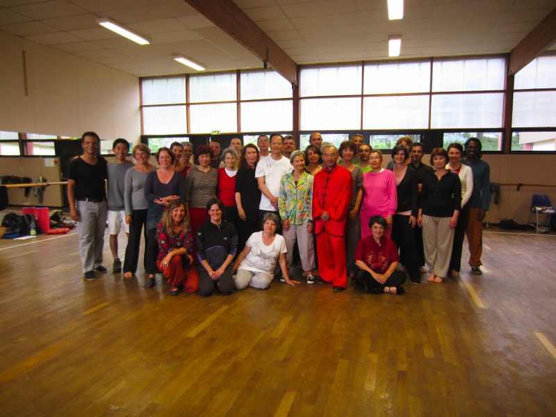 Le groupe de pratiquants de Ziran Qi Gong Nantes 2013