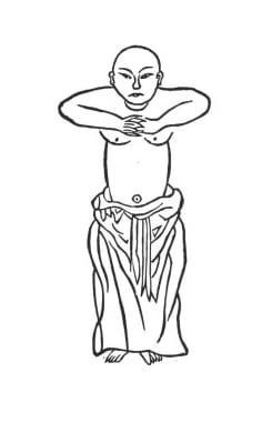 La posture de l'arbre ou Zhan Zhuang Qi Gong