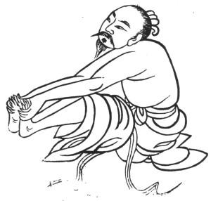 Qi Gong des saisons : Posture de Descente du givre