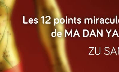 Les 12 points miraculeux d'acupuncture : Zu San Li