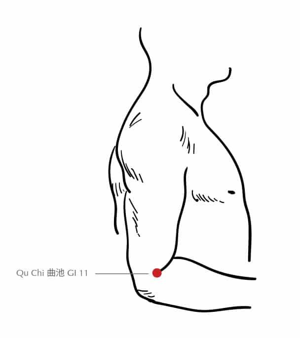 Qu Chi (曲池) GI 11