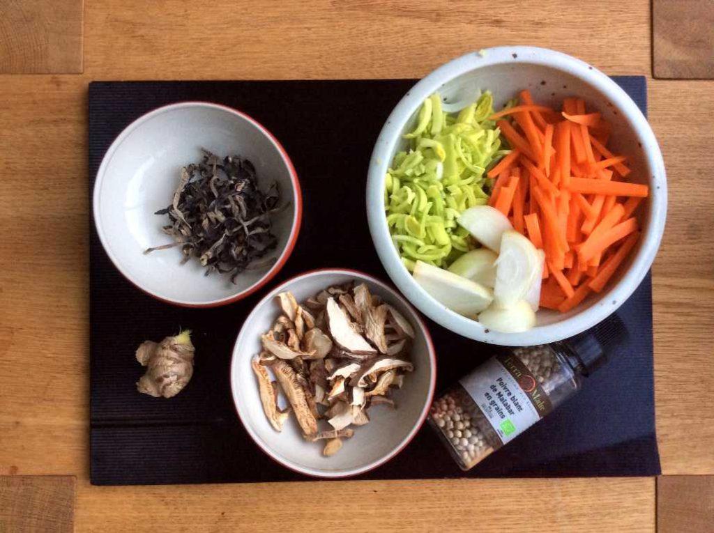 Soupe Coup De Froid Ingredients