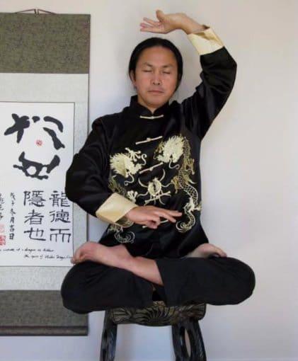 Posture Singe Qi Gong