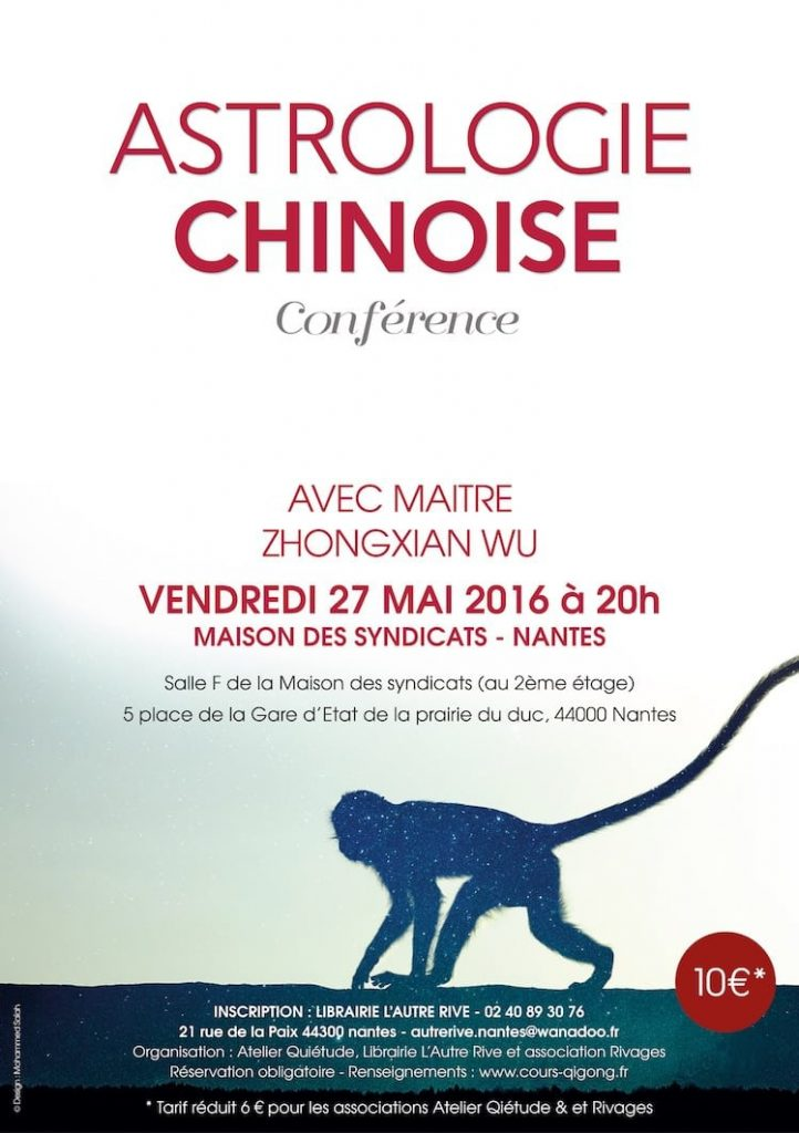 Flyer Astrolgie Chinoise