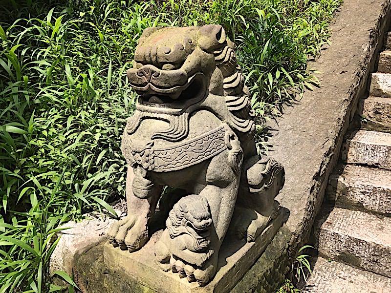 Chien Fo : protecteur de temple